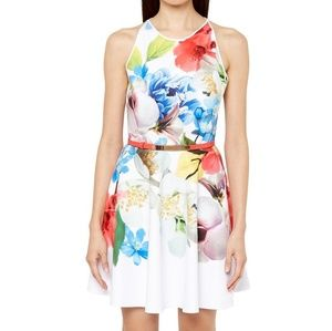 TED BAKER Forget Me Not Skater Dress